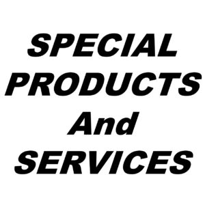 Special Products and Services